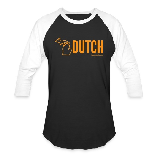 Michigan Dutch (orange) - Baseball T-Shirt