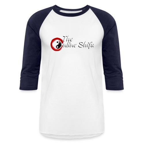 WhiteTOS1 - Baseball T-Shirt