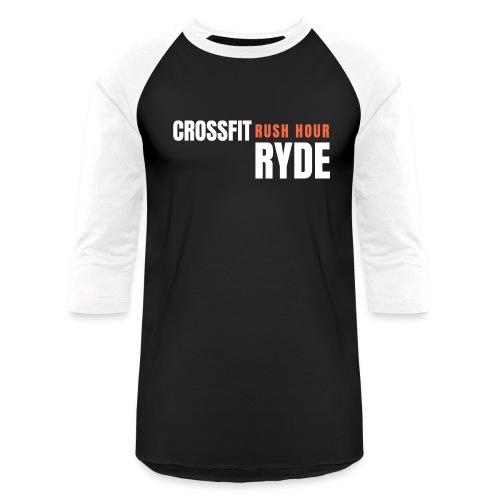 CrossFit Rush Hour Ryde - Standard Design - Unisex Baseball T-Shirt