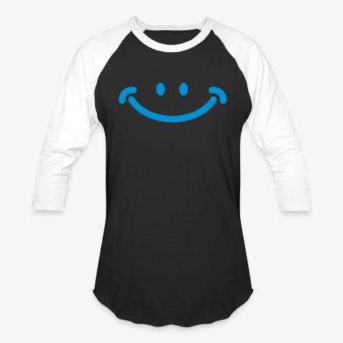 Happy Mug - Unisex Baseball T-Shirt