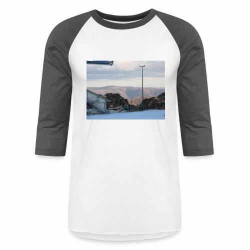 Mt Buller - Unisex Baseball T-Shirt