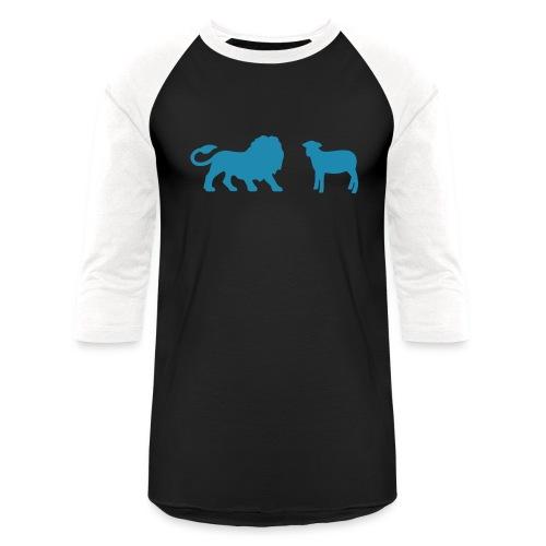 Lion and the Lamb - Baseball T-Shirt