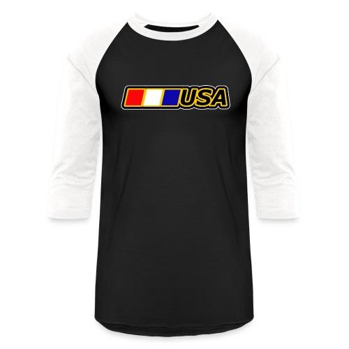 USA - Unisex Baseball T-Shirt
