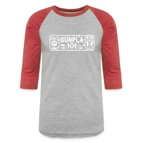 Gunpla 101 Men's T-shirt — Zeta Blue - Unisex Baseball T-Shirt