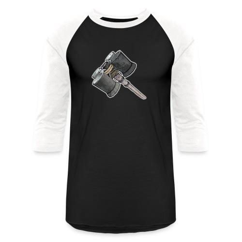Weaponized Junk Mod - Unisex Baseball T-Shirt