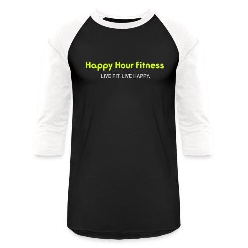 HHF_logotypeandtag - Unisex Baseball T-Shirt
