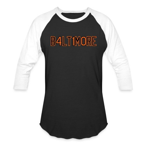 B4LT1M0RE - Unisex Baseball T-Shirt