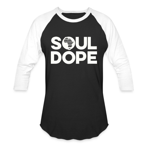 souldope white tee - Baseball T-Shirt