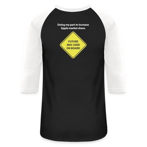 macuseronboard - Baseball T-Shirt