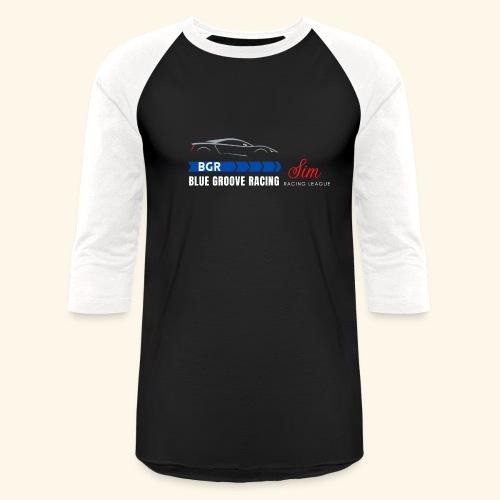Blue Groove Racing SRL White - Unisex Baseball T-Shirt