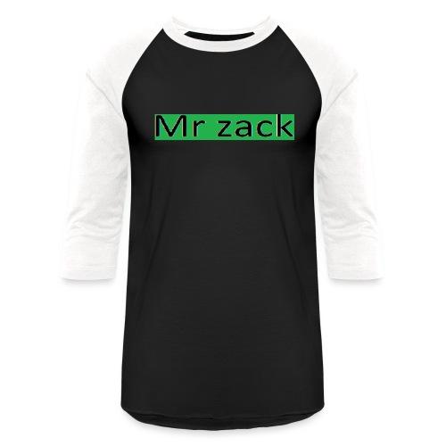 Mr zack - Unisex Baseball T-Shirt