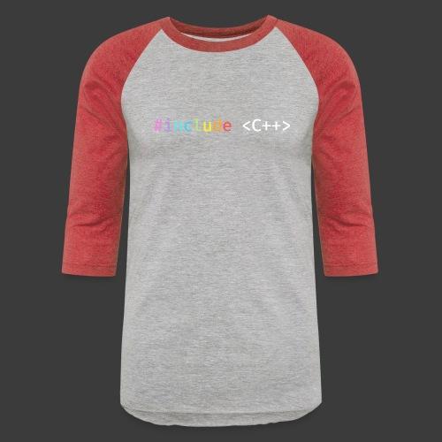 Rainbow Include C++ - Baseball T-Shirt