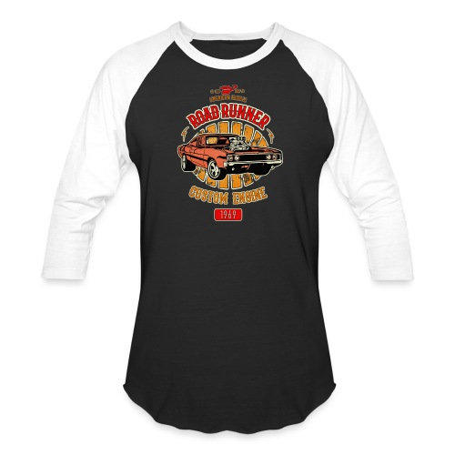 Plymouth Road Runner - American Muscle - Unisex Baseball T-Shirt