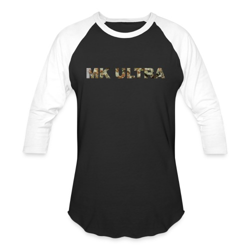 MK ULTRA.png - Baseball T-Shirt