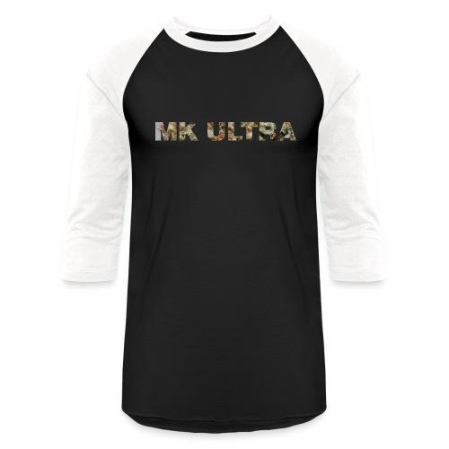 MK ULTRA.png - Unisex Baseball T-Shirt