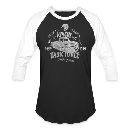 Chevy Pick Up Truck - Task Force - Unisex Baseball T-Shirt