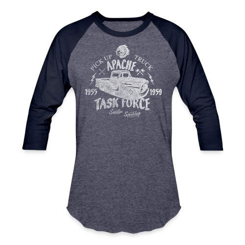 Chevy Pick Up Truck - Task Force - Unisex Baseball T-Shirt
