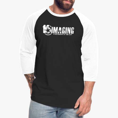 16IMAGING Horizontal White - Unisex Baseball T-Shirt