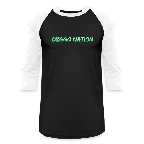 DoggoNation Logo - Baseball T-Shirt