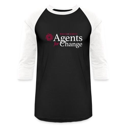 pascoagentsforchange logo - Unisex Baseball T-Shirt
