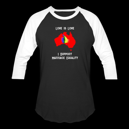 Love Is Love 3 - Baseball T-Shirt
