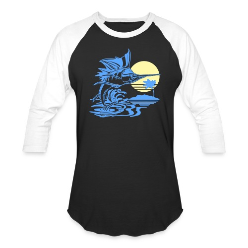 Sailfish - Unisex Baseball T-Shirt