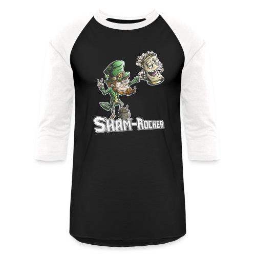 Sham-Rocker - Unisex Baseball T-Shirt