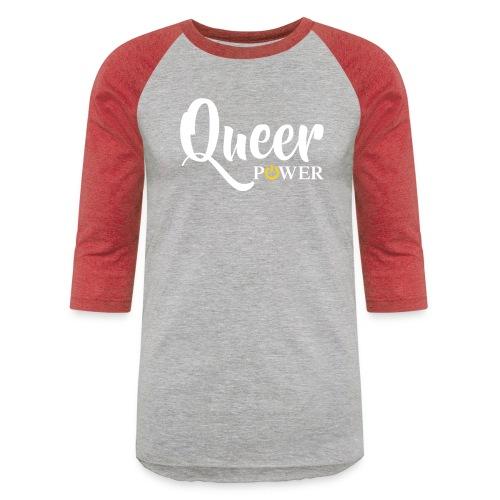 Queer Power T-Shirt 04 - Baseball T-Shirt