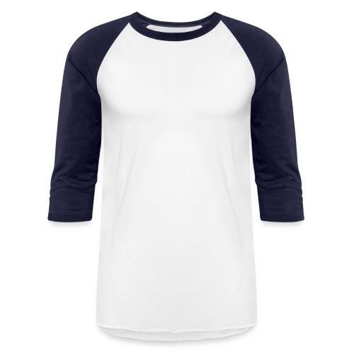 Black Big Logo - Baseball T-Shirt