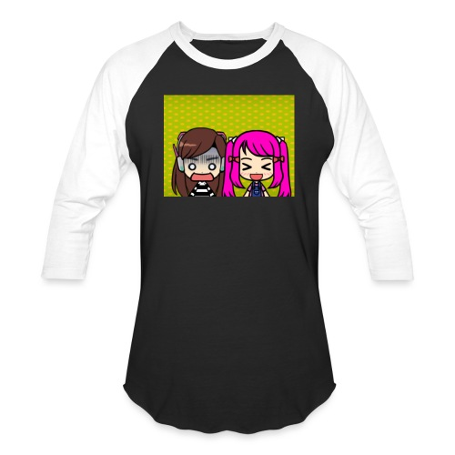 Phone case merch of jazzy and raven - Unisex Baseball T-Shirt