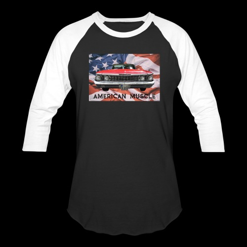AMERICAN MUSCLE - Baseball T-Shirt