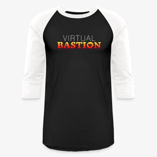 Virtual Bastion - Unisex Baseball T-Shirt
