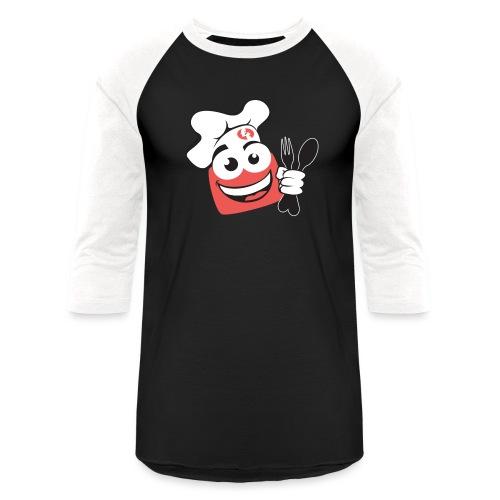 FoodTube Dude - Baseball T-Shirt