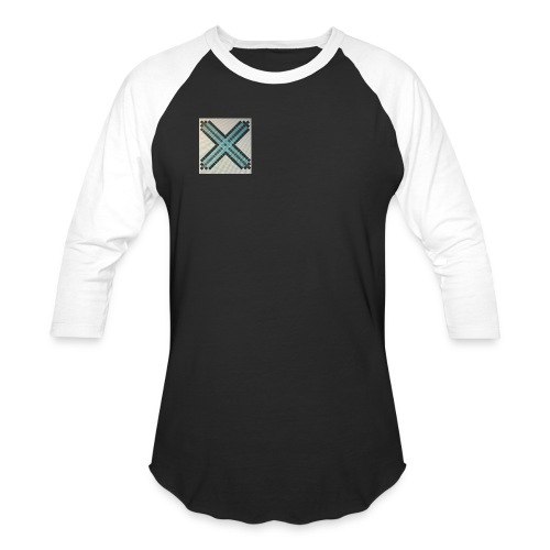 Blue XaRo - Unisex Baseball T-Shirt