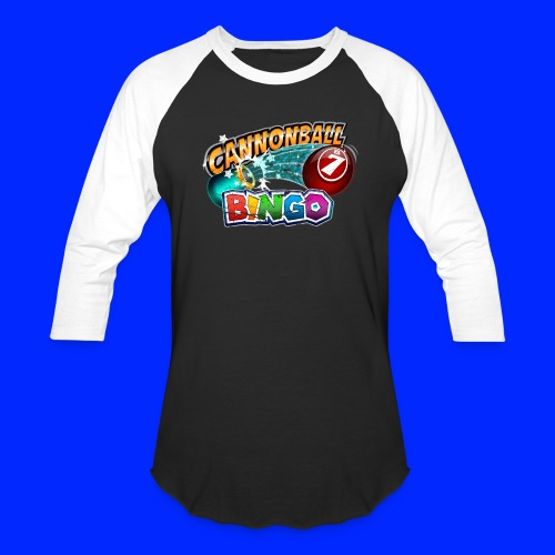 Vintage Cannonball Bingo Logo - Baseball T-Shirt