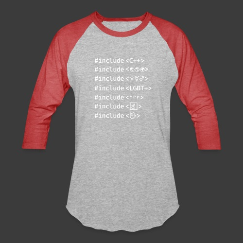 White Include List - Baseball T-Shirt