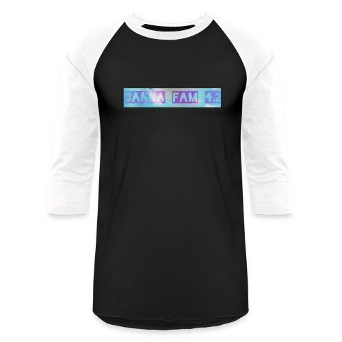 Canna fams #3 design - Unisex Baseball T-Shirt