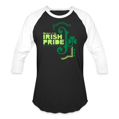 IRISH PRIDE - Unisex Baseball T-Shirt