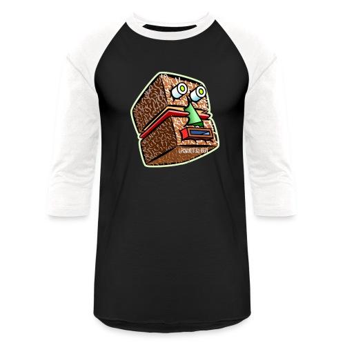 Lamington Bot - Unisex Baseball T-Shirt