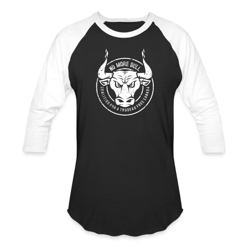 No More Bull - Unisex Baseball T-Shirt