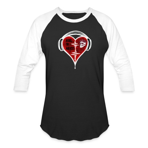 Axelofabyss Music in your heart - Baseball T-Shirt