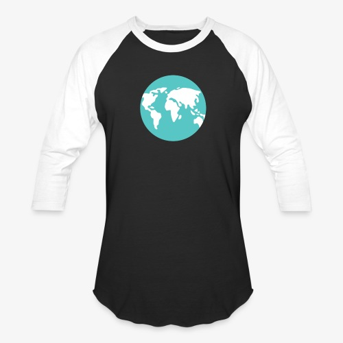 Blue Earth - Unisex Baseball T-Shirt