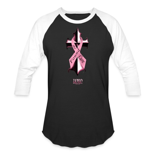 Found The Cure (4 breast cancer) - Unisex Baseball T-Shirt