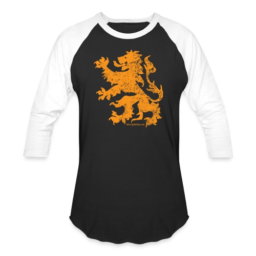 Dutch Lion - Baseball T-Shirt
