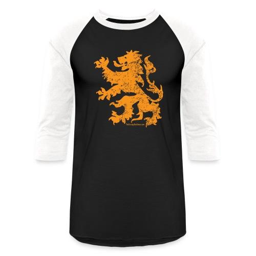Dutch Lion - Unisex Baseball T-Shirt