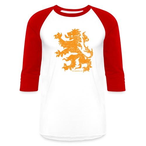 Dutch Lion - Baseball T-Shirt