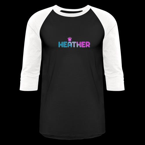 Heather - Unisex Baseball T-Shirt