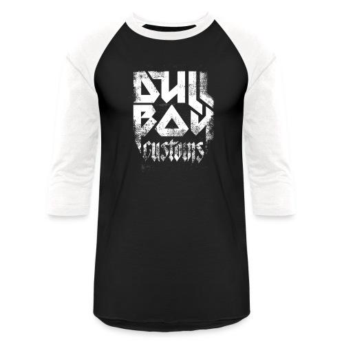 Dull Boy Customs white - Unisex Baseball T-Shirt