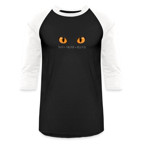 Trap Neuter Release - Unisex Baseball T-Shirt