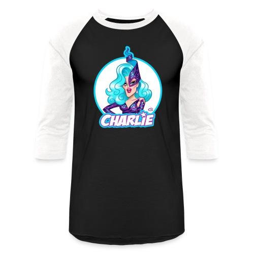 Dame Charlie Hides by Glen Hanson - Unisex Baseball T-Shirt